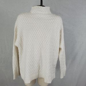Vince Camuto basket weave sweater
